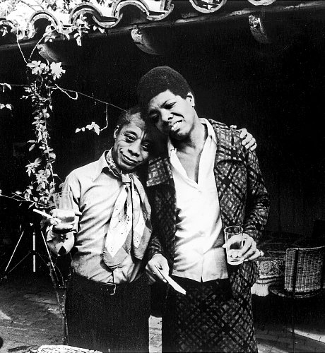 Maya and James Baldwin